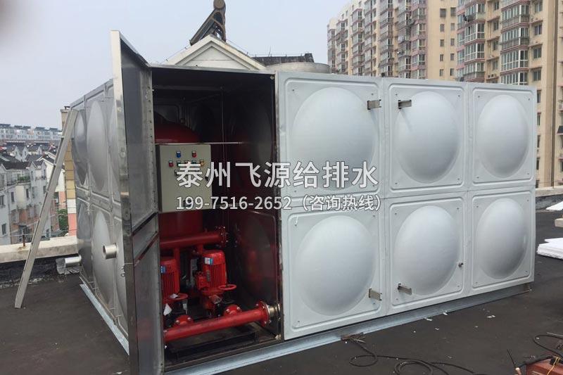 不锈钢水箱清洗需要注意哪些方面呢?