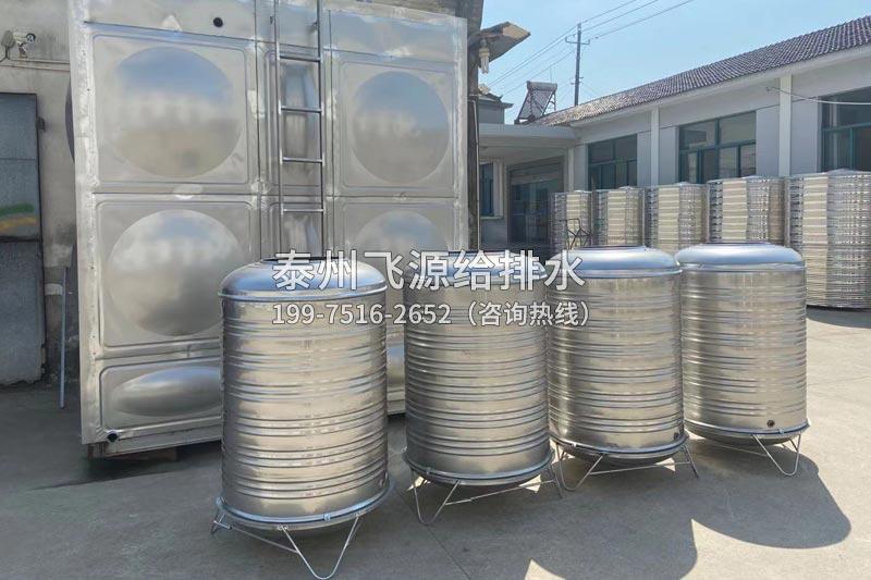 不锈钢(圆柱形)冷水箱